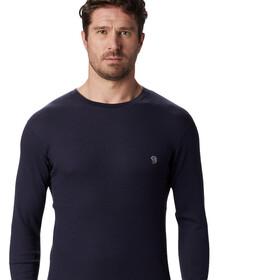 Mountain Hardwear Diamond Peak Camiseta Térmica Hombre, dark zinc